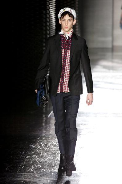 SUPERANDREY at Prada 2012 S/S Fashion Show Tokyo